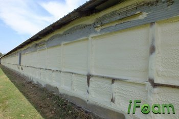 spray foam insulation for barns